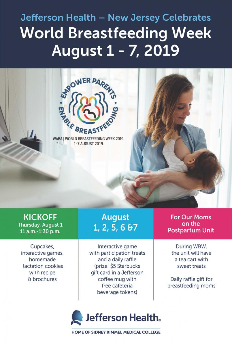 Jefferson Nj Celebrates World Breastfeeding Week August 1 7 2019