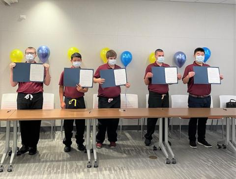 Jefferson's first class of Stratford Project SEARCH interns